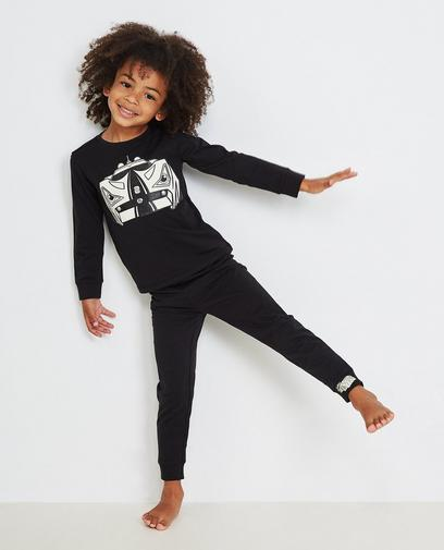 Zwarte pyjama